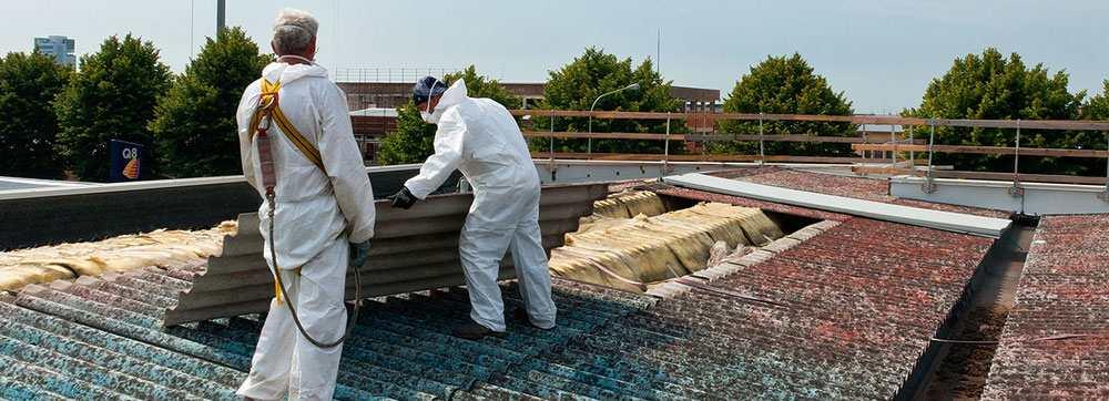 Fachmännische Asbestentsorgung